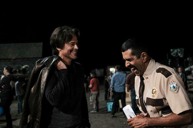 Rob Lowe, Jay Chandrasekhar