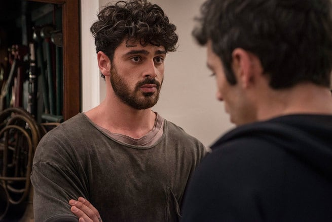 Michele Morrone, Luca Argentero