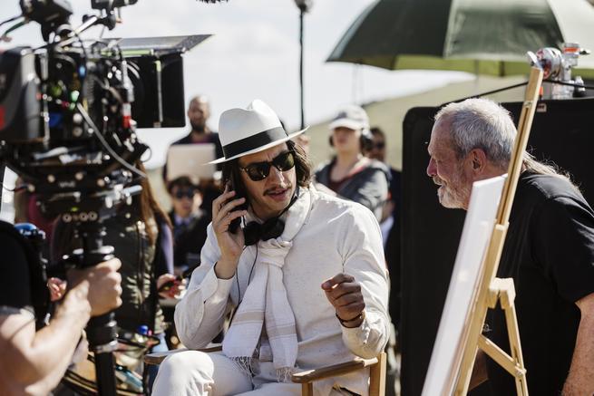 Adam Driver, Terry Gilliam