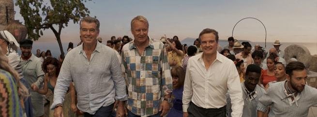 Pierce Brosnan, Colin Firth, Stellan Skarsgård