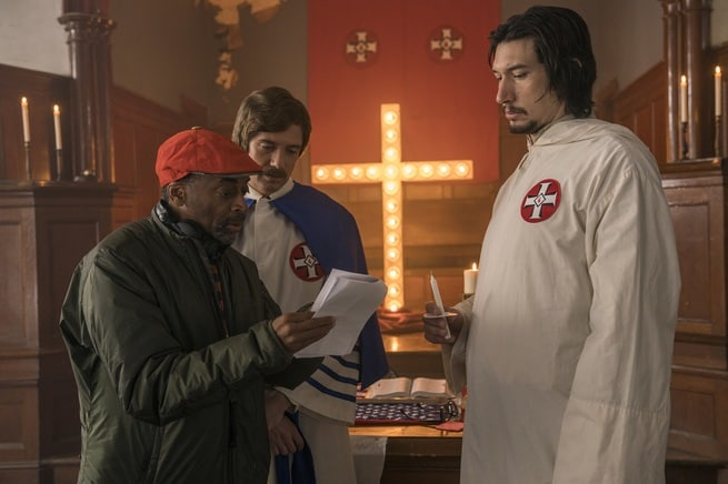 Topher Grace, Adam Driver, Spike Lee