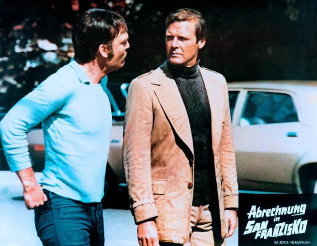 Roger Moore, Stacy Keach