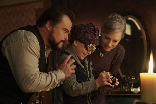 Jack Black, Owen Vaccaro, Cate Blanchett