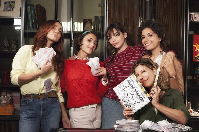 Michela Andreozzi, Ambra Angiolini, Silvia D'Amico, Serena Rossi, Ilenia Pastorelli