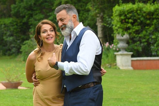 Luca Barbareschi, Claudia Gerini