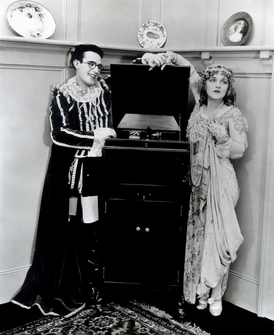 Harold Lloyd, Mildred Davis