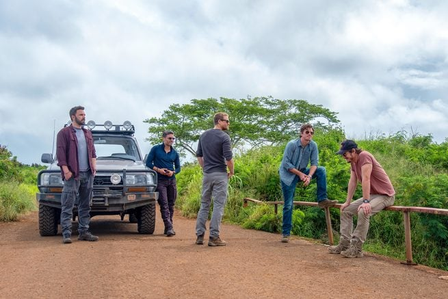Charlie Hunnam, Ben Affleck, Oscar Isaac, Pedro Pascal, Garrett Hedlund
