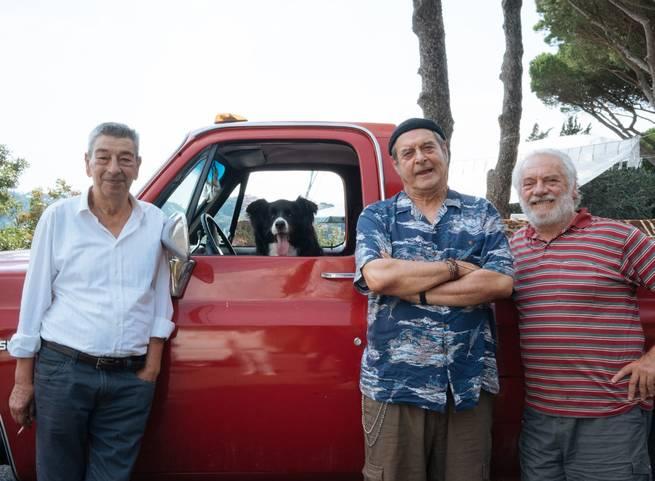 Giorgio Colangeli, Gianni Di Gregorio, Ennio Fantastichini