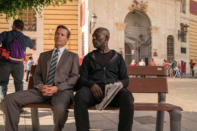 Guy Pearce, Eriq Ebouaney
