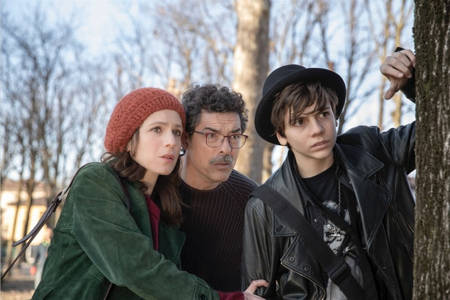 Isabella Ragonese, Alessandro Gassman, Francesco Gheghi
