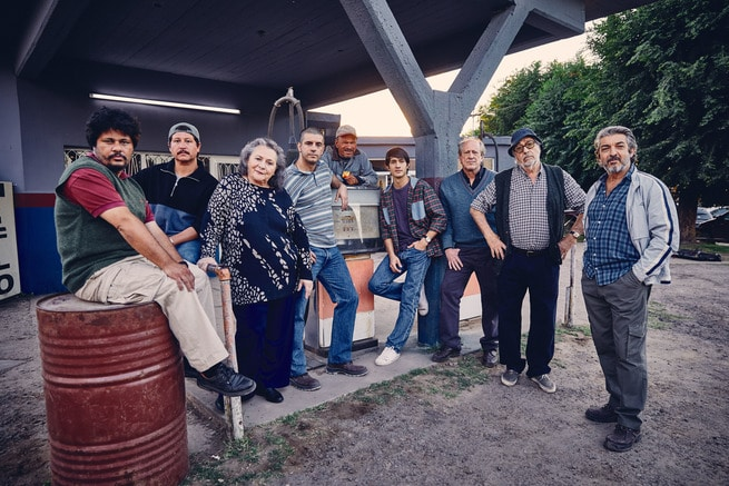Luis Brandoni, Ricardo Darín, Chino Darín, Rita Cortese