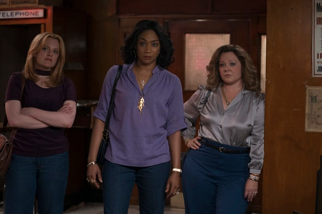 Melissa McCarthy, Tiffany Haddish, Elisabeth Moss