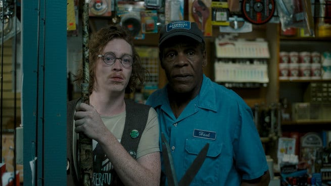 Caleb Landry Jones, Danny Glover