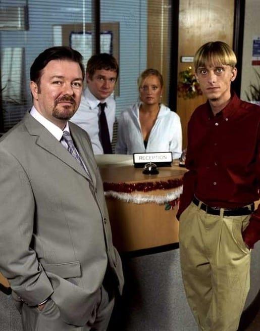 Ricky Gervais, Martin Freeman, Lucy Davis, Mackenzie Crook