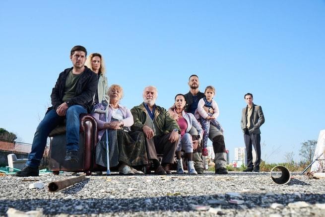Libero De Rienzo, Laura Chiatti, Andrea Sartoretti