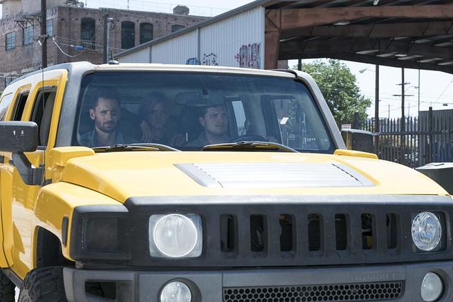 Josh Hutcherson, Eliza Coupe, Derek Wilson