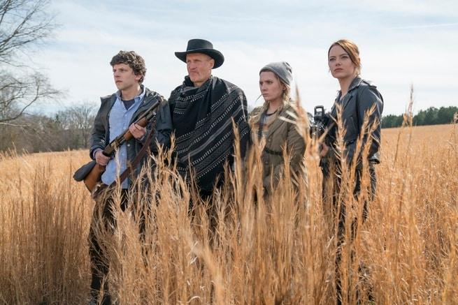 Woody Harrelson, Emma Stone, Jesse Eisenberg, Abigail Breslin