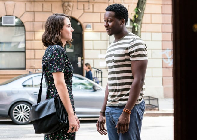 Brandon Micheal Hall, Violett Beane
