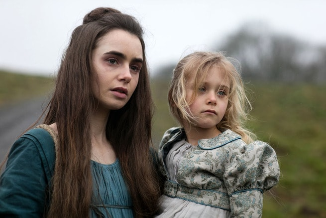 Lily Collins, Mailow Defoy