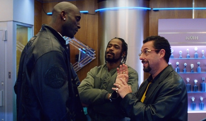 Kevin Garnett, Lakeith Stanfield, Adam Sandler