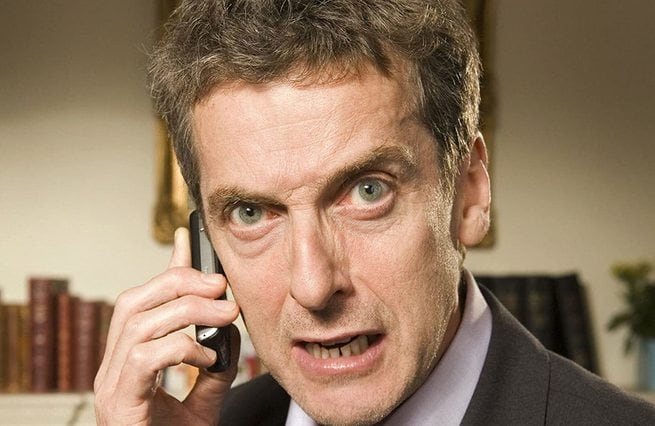 Peter Capaldi, Chris Addison