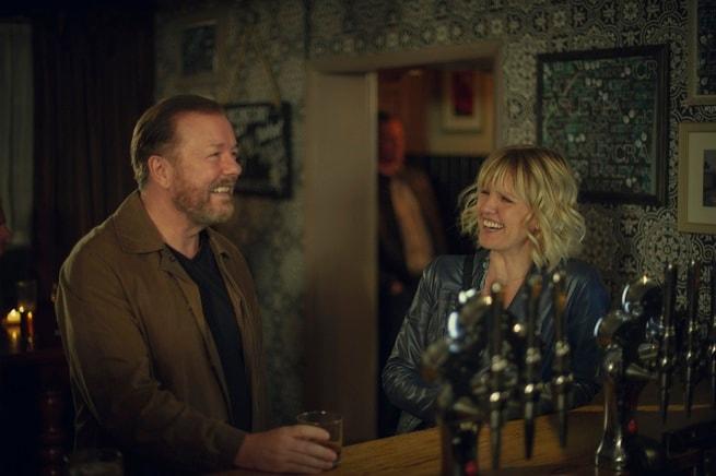 Ricky Gervais, Ashley Jensen