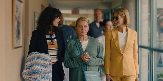 Rosamund Pike, Dianne Wiest, Eiza González