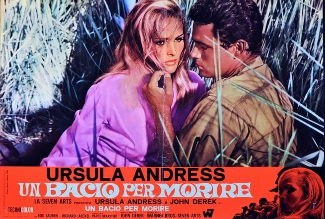 Ursula Andress, John Derek
