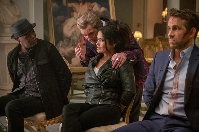 Ryan Reynolds, Salma Hayek, Antonio Banderas, Samuel L. Jackson