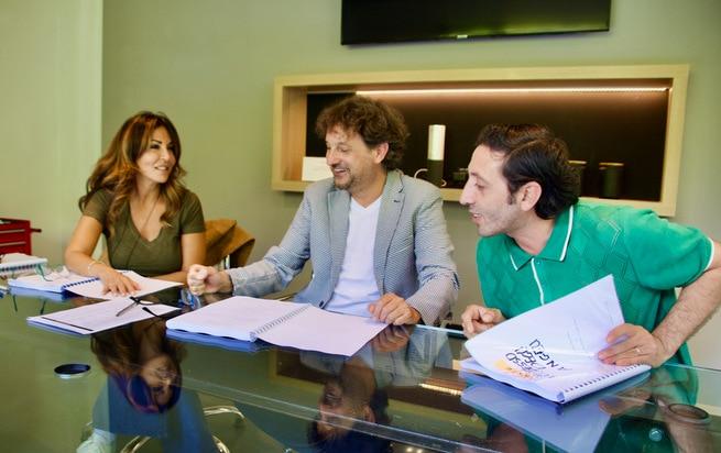 Leonardo Pieraccioni, Marcello Fonte, Sabrina Ferilli
