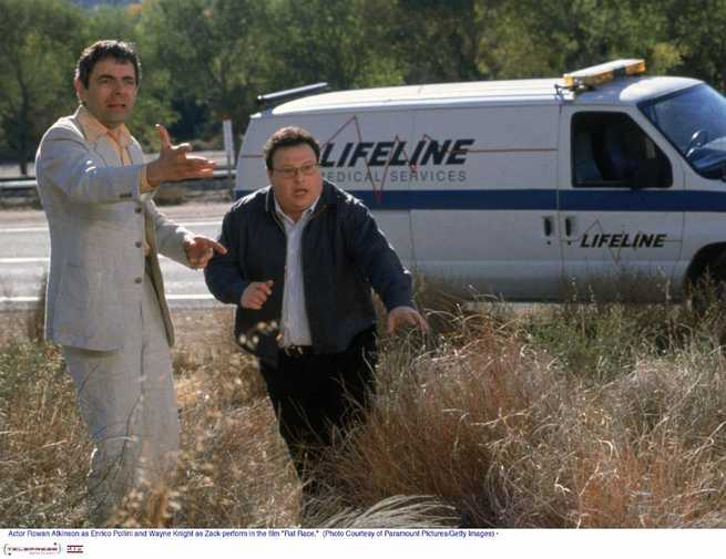 Rat Race: Rowan Atkinson, Wayne Knight