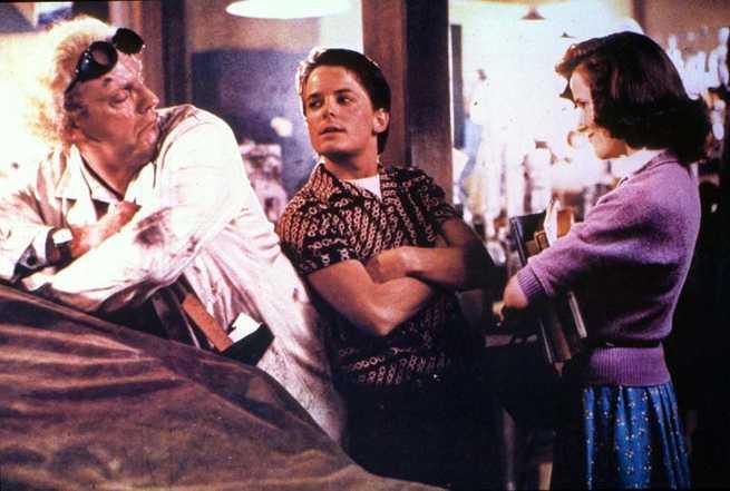 Michael J. Fox, Christopher Lloyd, Lea Thompson