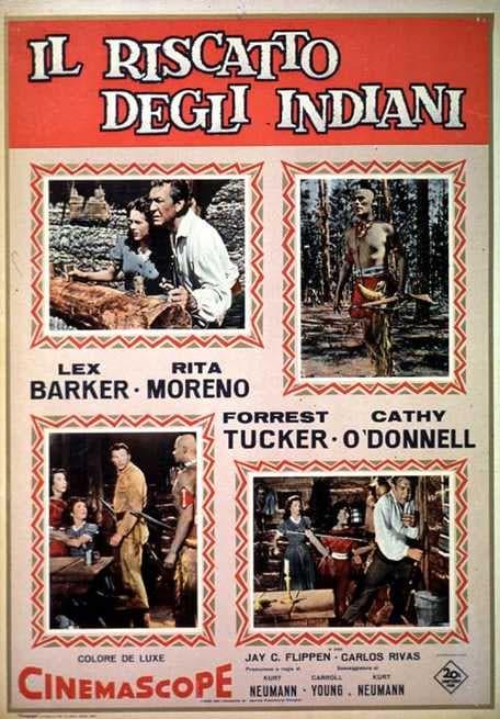Il Riscatto degli Indiani (1958)