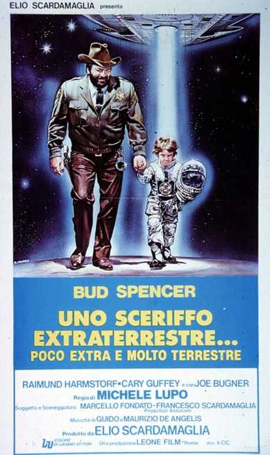 1/4 - Uno sceriffo extraterrestre... poco extra e molto terrestre
