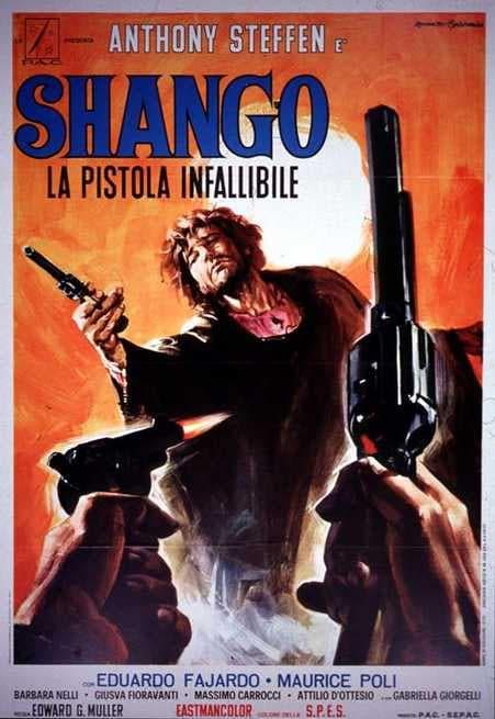 Risultati immagini per Shango la Pistola infallibile