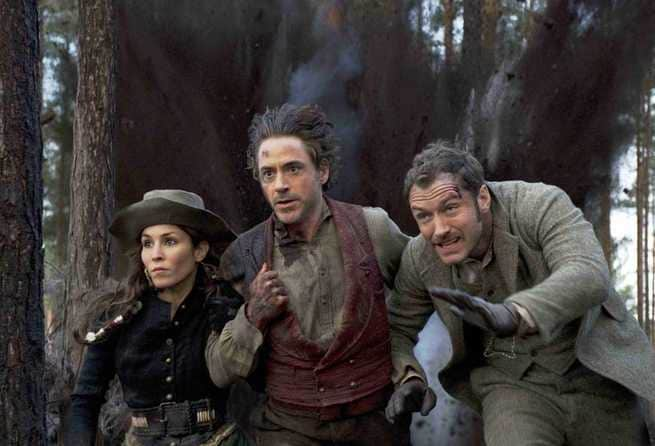 Noomi Rapace, Robert Downey Jr., Jude Law