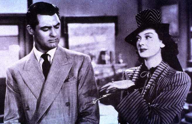 Rosalind Russell, Cary Grant