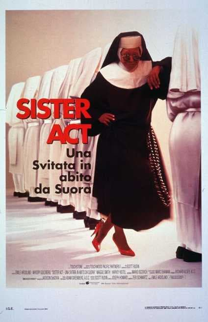 1/7 - Sister Act - Una svitata in abito da suora