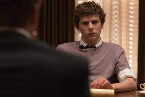 The Social Network: Jesse Eisenberg