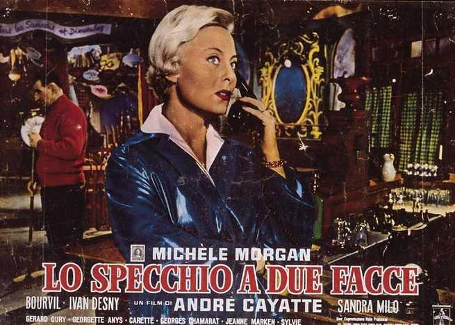 Lo specchio a due facce 1958 - Lo specchio film ...