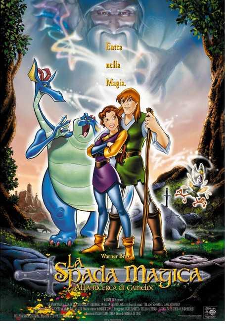 La spada magica alla ricerca di camelot 1998 - Film sui cavalieri della tavola rotonda ...