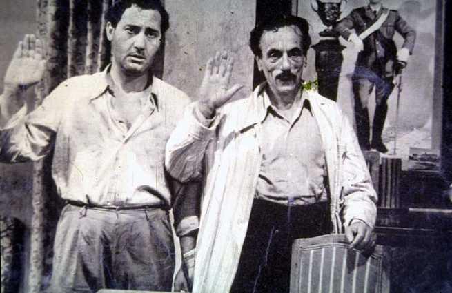 Alberto Sordi, Eduardo De Filippo