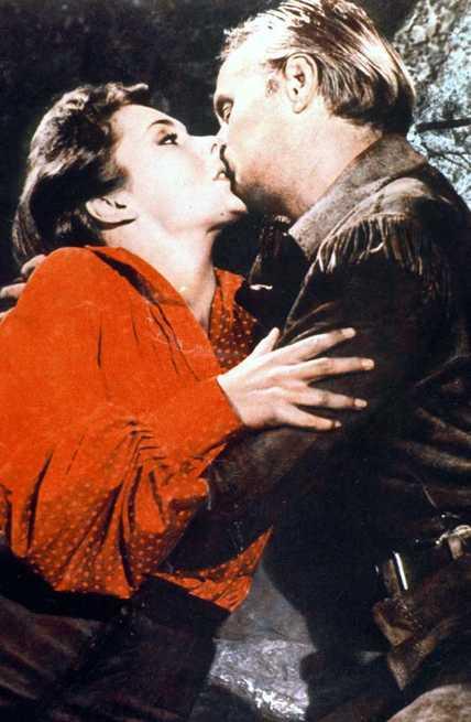 Richard Widmark, Felicia Farr