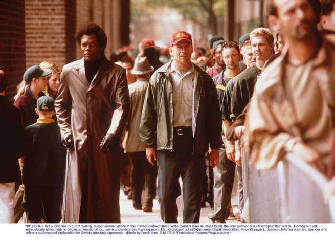 Bruce Willis, Samuel L. Jackson