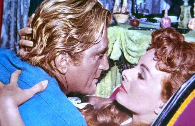 Kirk Douglas, Jeanne Crain