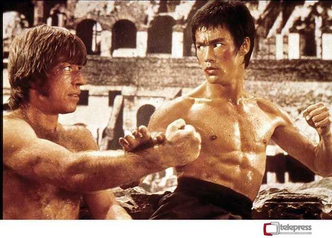 Bruce Lee, Chuck Norris