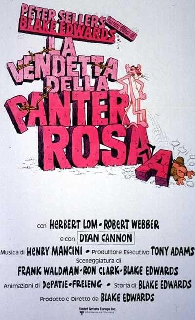 La Vendetta Della Pantera Rosa 1978 Filmtvit