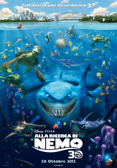 Locandina italiana riedizione 3D