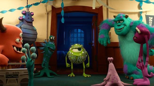 2/7 - Monsters University