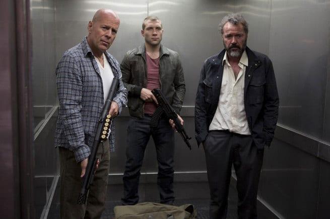 Bruce Willis, Jai Courtney, Sebastian Koch